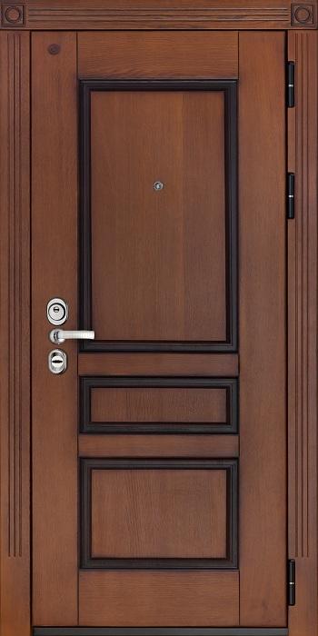 железные массивные двери